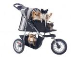 Como transformar carrinhos de bebê em carrinhos para cães